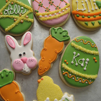 Easter Cookies These are my cookies for Easter this year. Idea for bunny from Pebbles13. NFSC with Antonia74 royal icing. TFL..