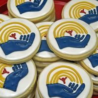United Way Logo Cookies I made these for a local United Way Open House. NFSC with Antonia RI.