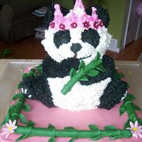 "Panda Princess Made for my daughter's ""Gotcha Day"" party with other families from our travel group to China to adopt in 2002. Theme of..."