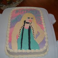Hannah Montana   I did this cake for my Niece's 8th birthday. This was my 3rd FBCT. I don't think I do it that well. I usually do gel transfer.