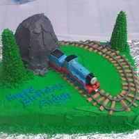 Thomas Cake This is a cake I made for my sons second birthday - I am still learning but I thought it turned out really well.