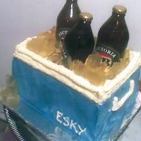 Esky With Bottles Of Real Beer