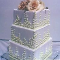 3 Tier Mud With Gumpaste Roses