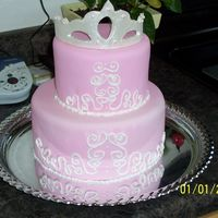 Princess Birthday Here it is stacked, lemon and german chocolate. Thanks for looking!