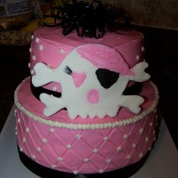 Girly Pirate Cake
