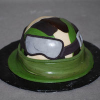 Halo Helmet   Mini Cake