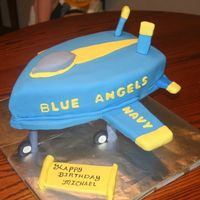 Blue Angels Cake