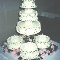 Angels The royal icing that houses the angels was quite a chore, took many attempts! Rest is all buttercream.