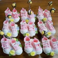 Cakes-2009_874.jpg Made these baby shoes for my cousin's baby shower. Shoes are made of fondant.