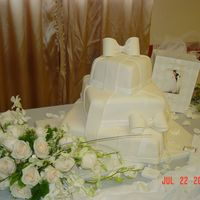 My First Mmf Wedding Cake