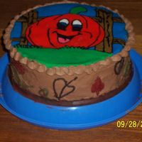 Pumpkin Fbct  Practice cake to try FBCT again. I had a bunch of bright orange icing I needed to use, so I decided to do a Pumpkin LOL chocolate...