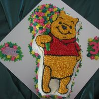 Pooh Bear With Flowers