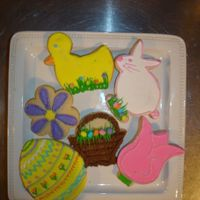 Easter Cllection assorted easter cookies