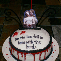 Twilight -Last Minute- Cake!