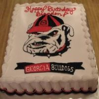 Georgia Bulldogs For a friends birthday who is a huge georgia bulldogs fan