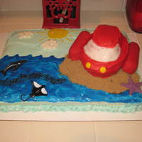 "Little Einsteins ""rocket"" Cake"