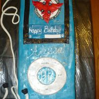 "Ipod iPod cake - 30 Seconds To Mars ""now playing"""