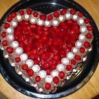 Cherry Chocolate Heart