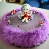Hungry Jacks Fairy Birthday Cake My daughter had her 6th bday at Hungry Jacks, and wanted her cake to resemble the fairy on the invite. I tried my best...took ages to make...