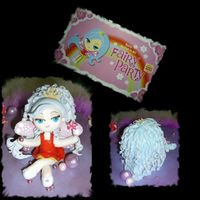 Hungry Jacks Fairy Close Up Close up of the Hungry Jacks fairy ... I tried to copy the fairy from the invite. The only thing I altered was the hair, to make her a...