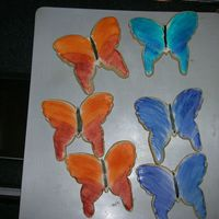 Butterfly Cookies NFSC w/Antonia's RI. I used these in the cookie bouquets I made.