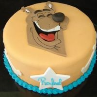 Scooby Doo! This little boy (he´s 3)loves Sooby Doo. His mother said he didn´t eat the cake and he cried when...