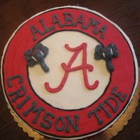 Roll Tide Birthday This was for my son's 10th birthday. We went to a basketball game at the Un. of Alabama...his favorite sport and his favorite college...
