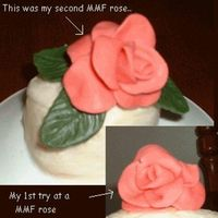 Mmf Roses I made these out of MMF... The first one was too closed, and the second one I opened up the petals more and I think it turned out very nice...
