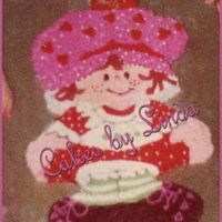 Holly's Shortcake Year.... I made this from a 12 x 18 sheet cake...Used the star tip to do the whole thing in....ugh...my fingers were sore after I was done if I...