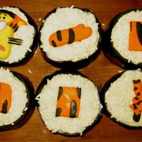 Tigger Sushi Tigger has always been my son's favorite character, and since he had a Tigger cake for his first birthday, I wanted to do something...
