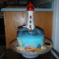 Peggy'd Cove Cake This was a cake made for a man who just turned 60 and hs wife just had major surgery. This celebrated both events since they are lovers of...