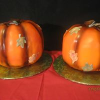 Pumpkin Cake For Fall Festival