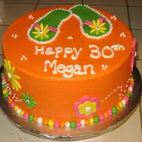 Megan's B-Day bc with fondant