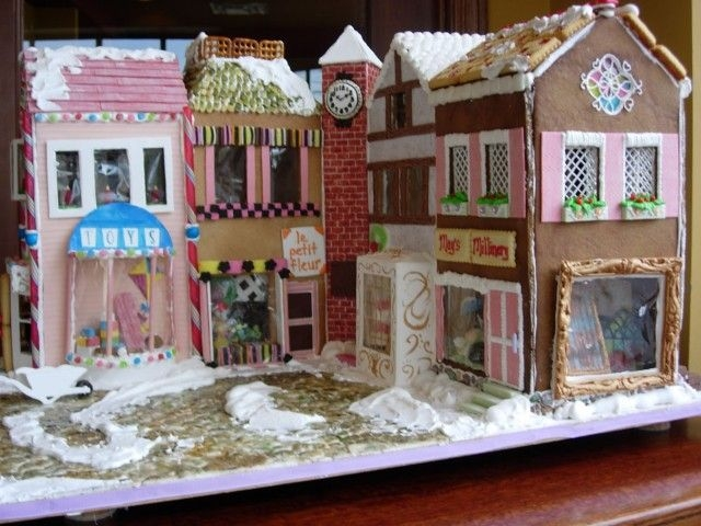 Gingerbread 2005 Holiday village for Gingerbread Lane