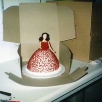 Doll Cake this was my first doll cake I ever did !