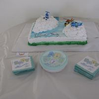 Plane And Heliocopter Baby Shower Did this for a Friends Baby Shower