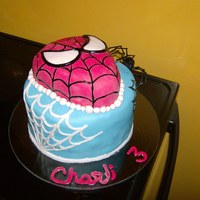 "Spiderman For My Youngest Son This was my sons 3rd b-day cake..... Not exactly what I wanted to do but as long as it was a ""spizer-man"" cake,, my son was happy..."