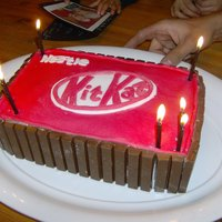 Kitkat My husband loves KitKat....
