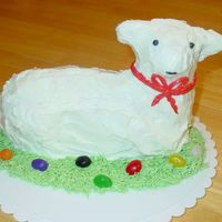 Easter Lamb Cake  Making lamb cakes is a tradition in my family. This year, I was finally given my own stand up lamb mold. I made MY pound cake recipe and MY...