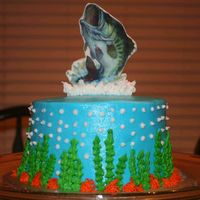Ed's Fish Cake Thank you boween for the edible image plaque tutorial.