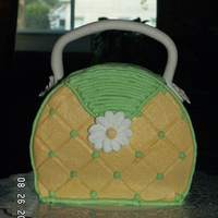 Purse Cake Made this for my 50th birthday last year. Pressed for time, so not as neat as it should be. TFL
