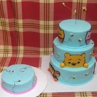 Pooh Thanks lisa_mae for your great peek a boo pooh cake! My friend saw it and had to have it. Mine is no where as great as yours. Thanks again...