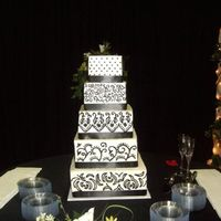 Black And White Wedding Squares