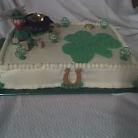Another View Of St Patrick's Day Cake
