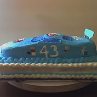 First Nascar Cake This is my first attempt at a nascar cake. I did use a nascar cake pan. The icing is buttercream and the logos are made of royal icing. My...