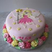 Fairy Cake With Matching Cupcakes