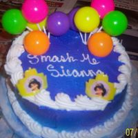 Jasmine Cake a smash cake to go with the princess jasmine cake