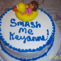 Smash Me a smash me cake for the dora, elmo cake