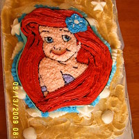 Little Mermaid Birthday Just a quick cake for a friend's daughter.