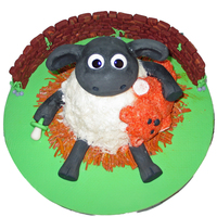Timmy Cake From Shaun The Sheep